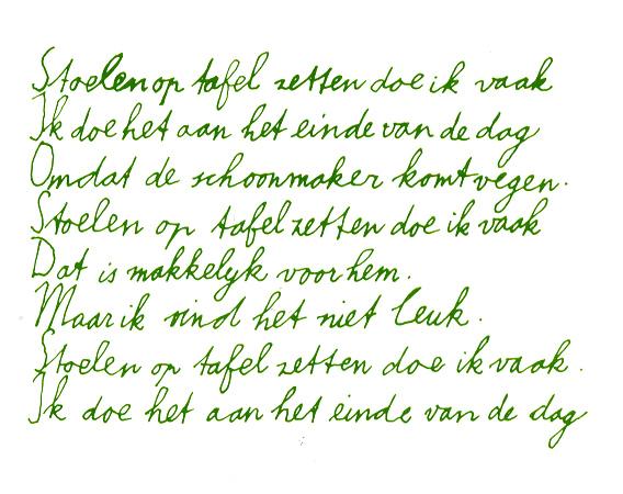 Gedichten Vrije Versvorm En Aan Regels Gebonden Teksten